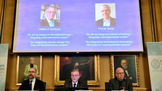 Nobel Ekonomi Ödülü sürdürülebilir kalkınma çalışmaları yürüten Nordhaus ve Romer'ın
