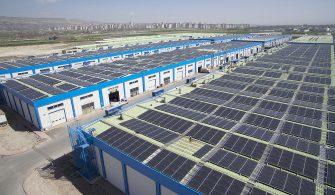 Kayseri Mobilyacılar Yenilenebilir Enerji Kooperatifi Güneş Enerjisi Santrali Üretime Başladı