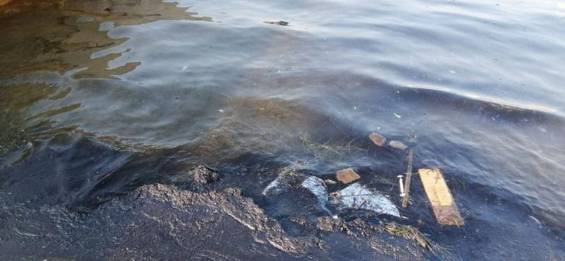 Denize atık sızdıran firmaya 144 bin lira ceza kesildi