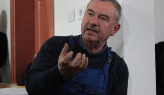 """Şaban Burhan Karacabey'de """"Zehirsiz Sofralara"""" Üretim Yapıyor"""